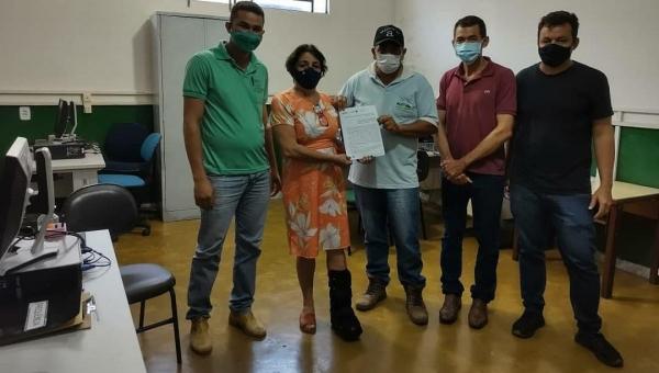 O Governo do Tocantins, por meio do Ruraltins, firma o Termo de Cooperação Técnica com Prefeitura.